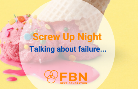 Screw Up Night: Talking about failure...