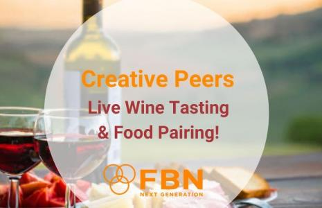 Live wine tasting and food pairing!